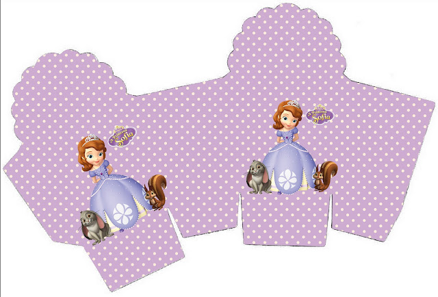 princess sofia the first party boxes free printables
