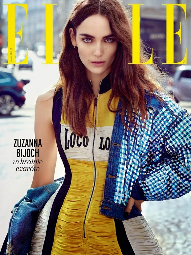 Fashion Model @ Zuzanna Bijoch by Agata Pospiesszynska for ELLE Poland, June 2015
