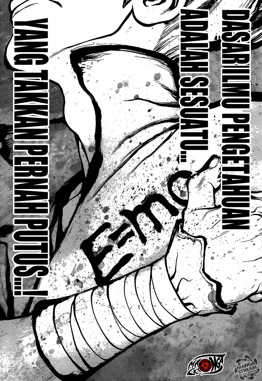 Dr. Stone Chapter 14-15