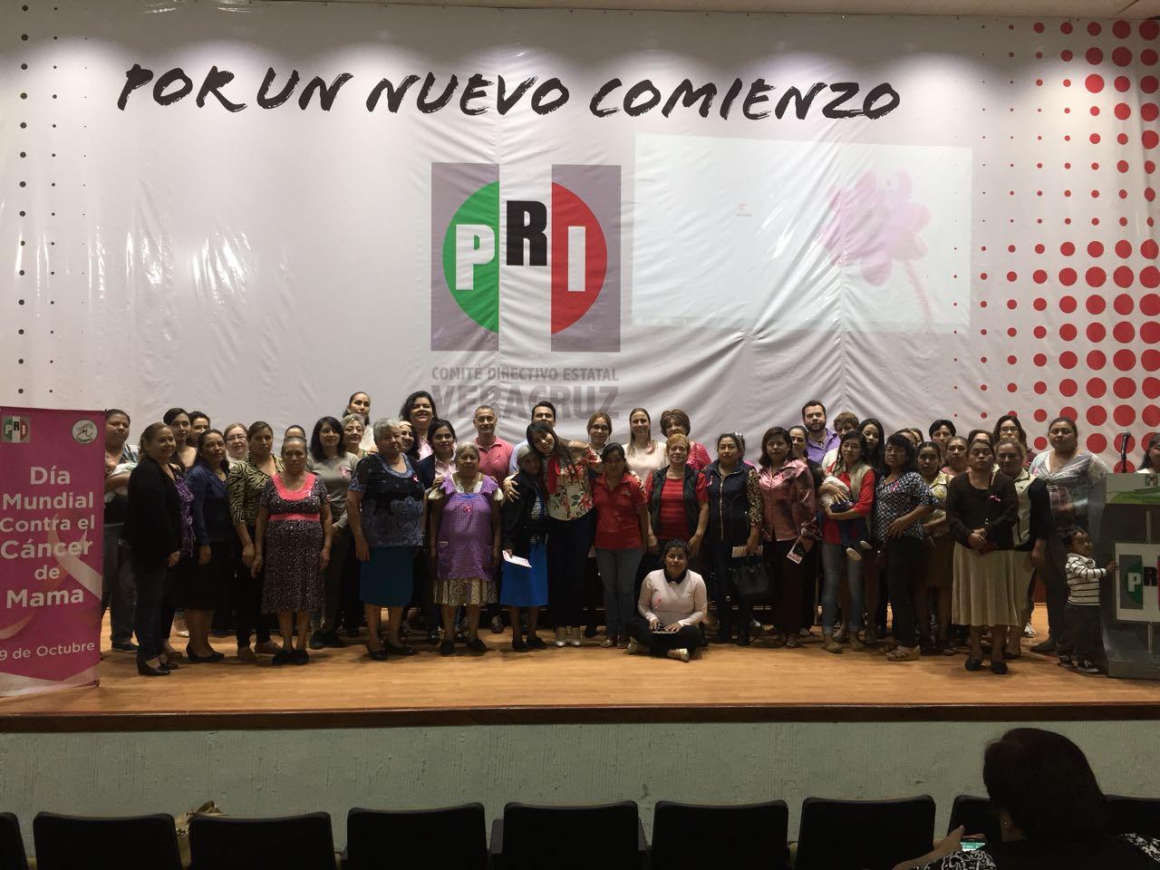 EL PRI conmemora el día mundial de la lucha contra el cáncer de mama
