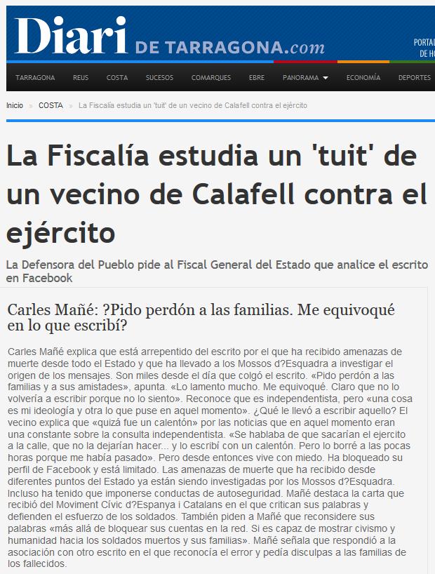 http://www.diaridetarragona.com/costa/22541/la-fiscalia-estudia-un-tuit-de-un-vecino-de-calafell-contra-el-ejercito