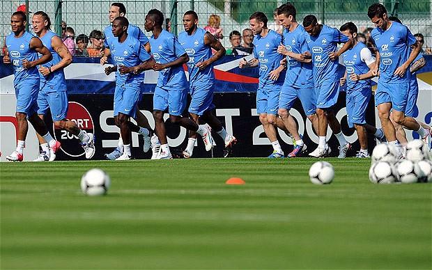 Daftar lengkap pemain team prancis di piala euro 2012