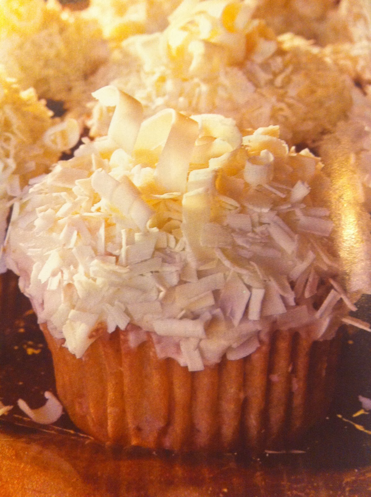 carrot cake cupcakes with white chocolate icing were my cupcake of ...
