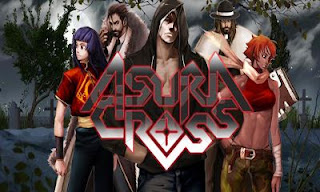 Screenshots of the Asura Cross for Android tablet, phone.