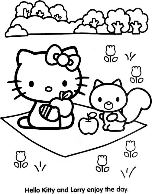 Coloriages a imprimer imprimer gratuitement coloriage hello kitty - Coloriage tete hello kitty a imprimer ...