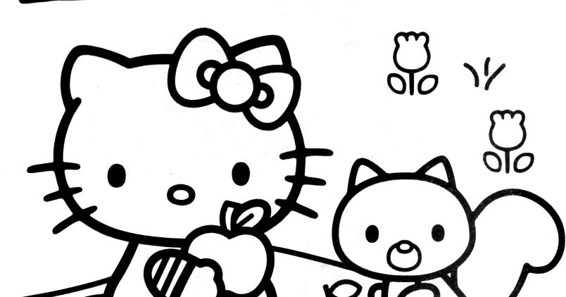 Coloriages a imprimer imprimer gratuitement coloriage - Hello kitty imprimer ...