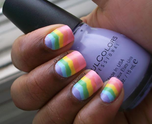 lacquernerd 31dc2013 day 9 rainbow