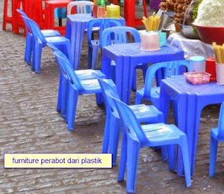 perabot rumah tangga dari plastik