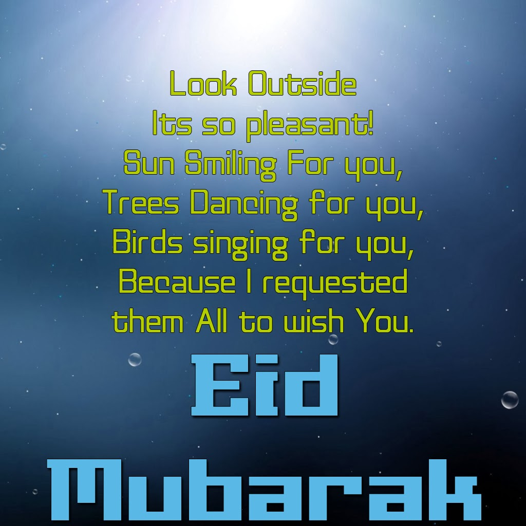 Eid Mubarak 2013 Greeting Messages Islamic Paradise