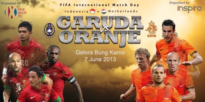 Harga Tiket Pertandingan Indonesia VS Belanda