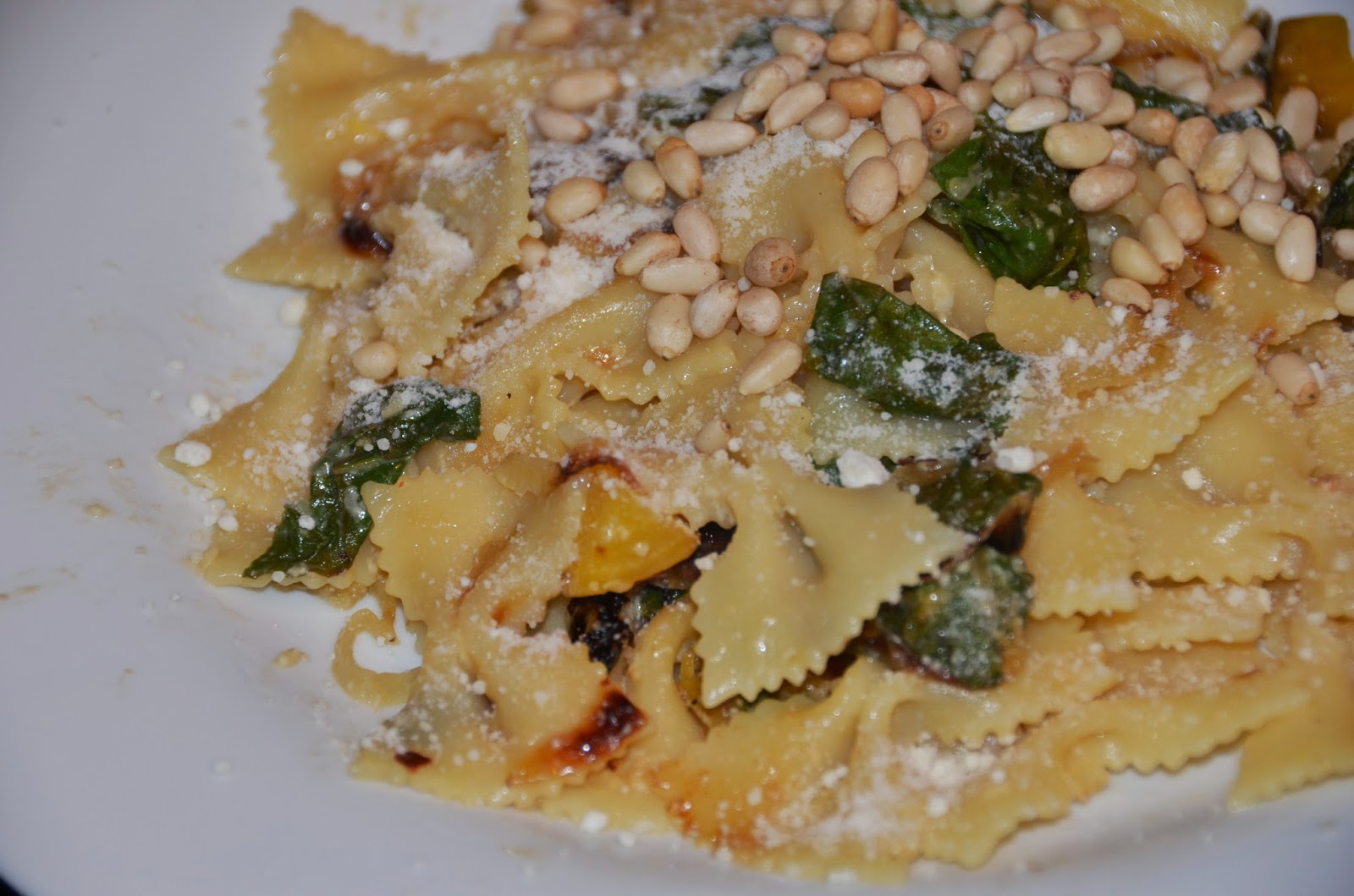 ... golden beets and pine nuts farfalle with golden beets and pine nuts