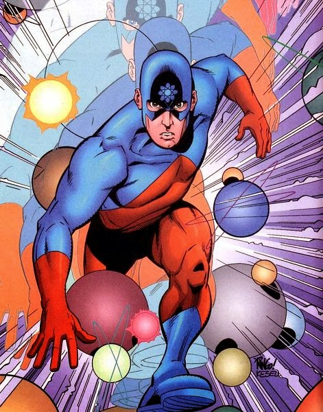 the atom,superhero