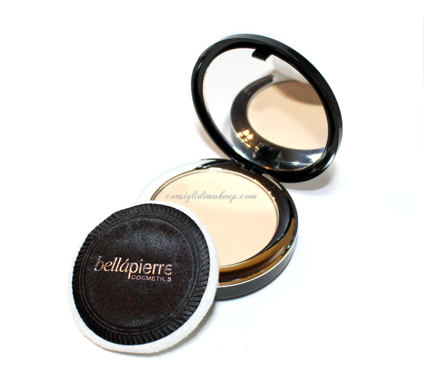 recensione compact mineral foundation bellapierre