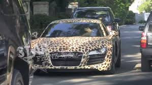 L' Audi R8 Léopard de Justin Bieber
