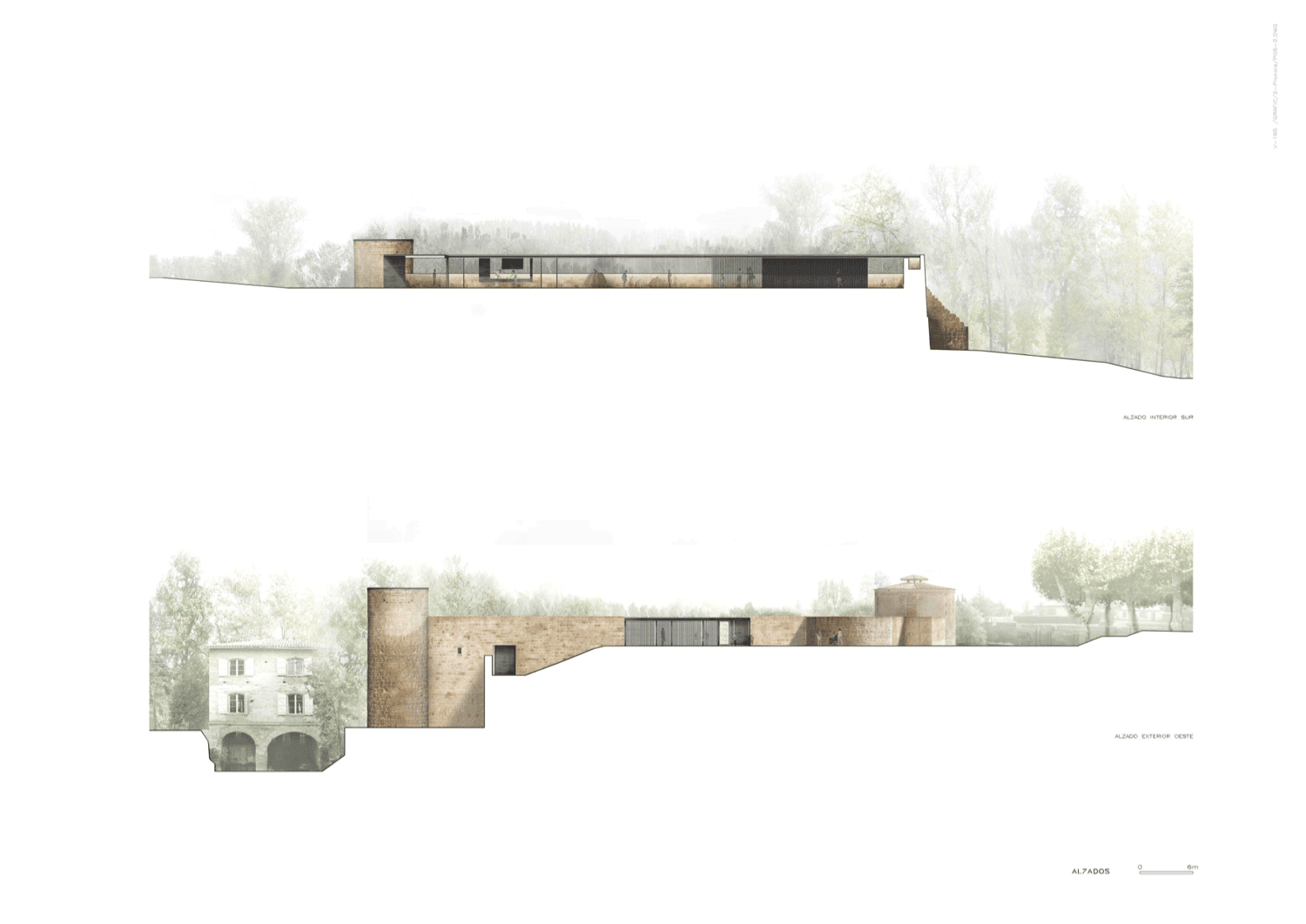 Plan Coupe Elevation Architecture : Rcr arquitectes a f s i