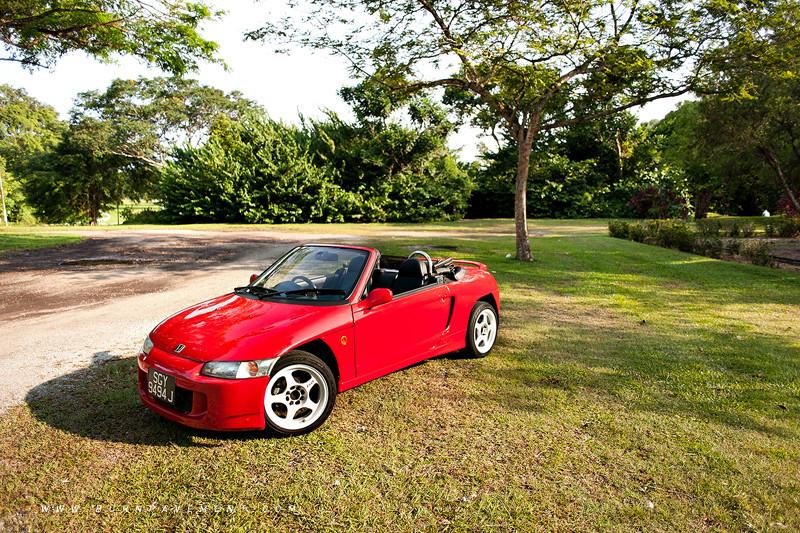 Honda Beat, roadster, kei car, małe sportowe auta, silnik 0.7, napęd na tył