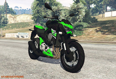Baixar moto Kawasaki Z800 2014 Para GTA V