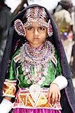 Traditional dress of the Rabari