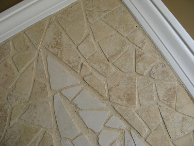 Broken Ceramic Tile Mosaic Wall Art