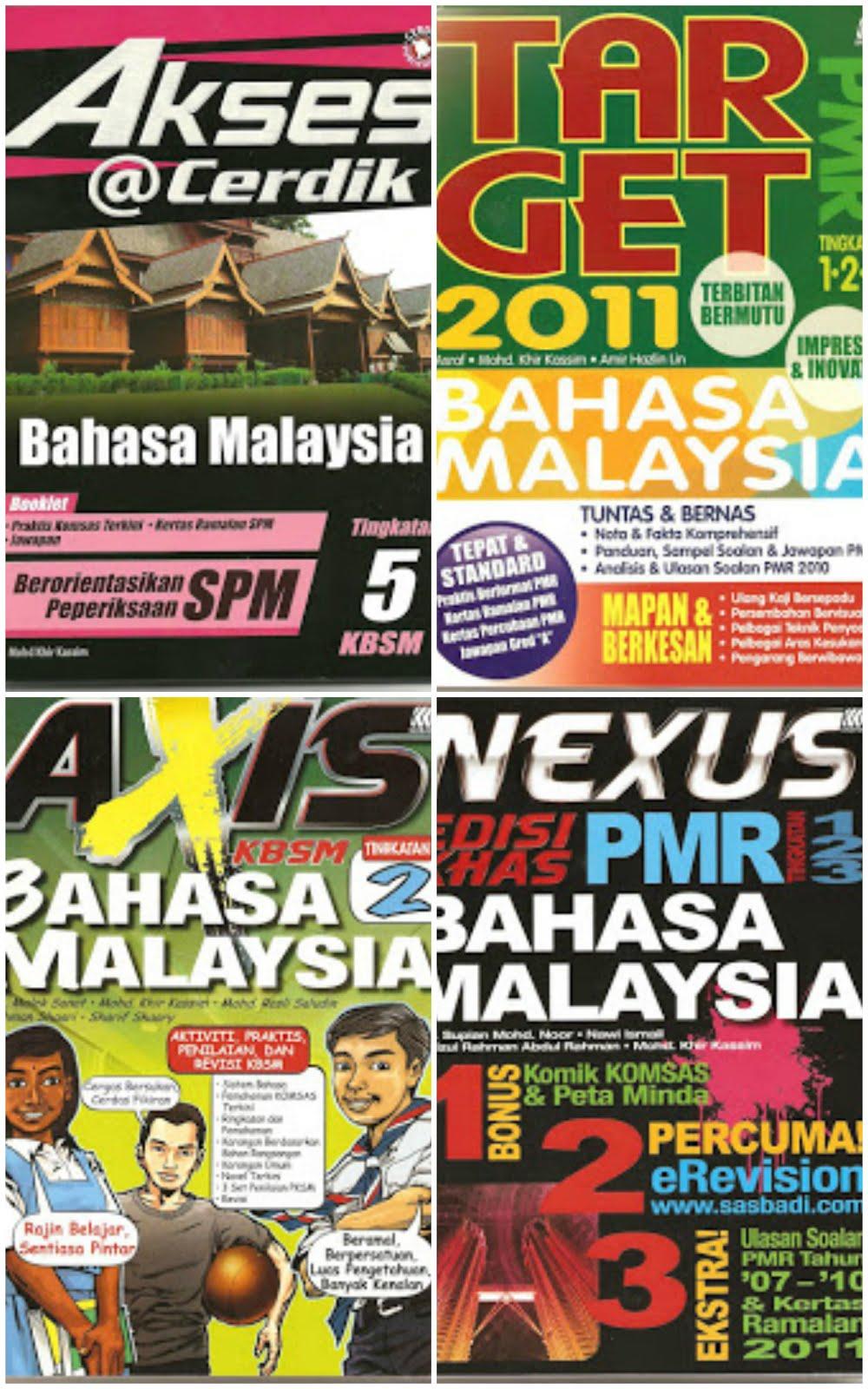 Buku Akses BM T5 2011/Buku Kerja BM Axis T2 2011/ Nexus BM PMR 2011/Target BM PMR 2011