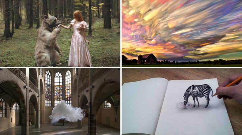 10 Artistas que hacen añicos nuestras percepciones de la realidad