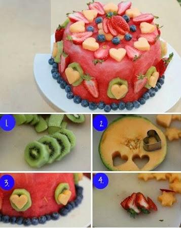 Torta de Frutas, Ideas Frescas para San Valentin