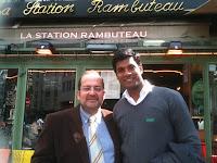 Sanjay in Paris