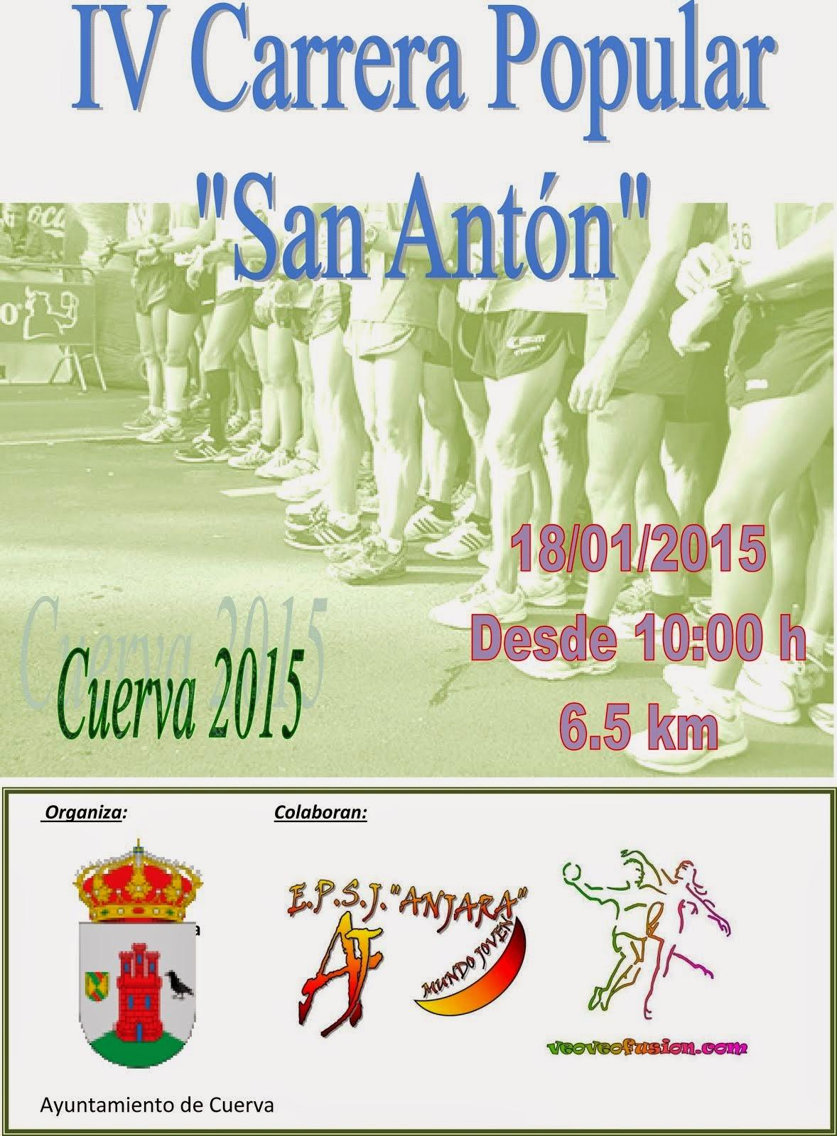 IV Carrera Popular de San Antón, de Cuerva