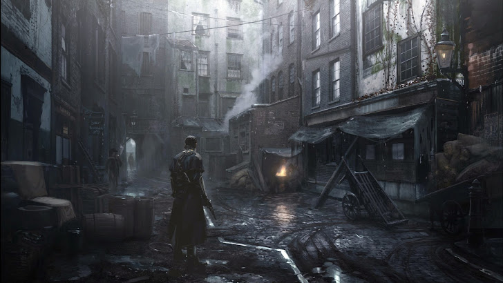 The Order 1886 Game Art