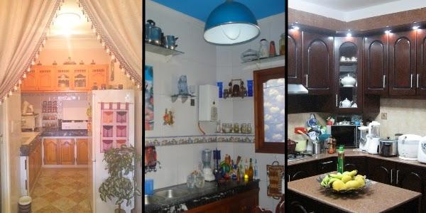 ديكور كوزينات من بيوت مغربية بالصور