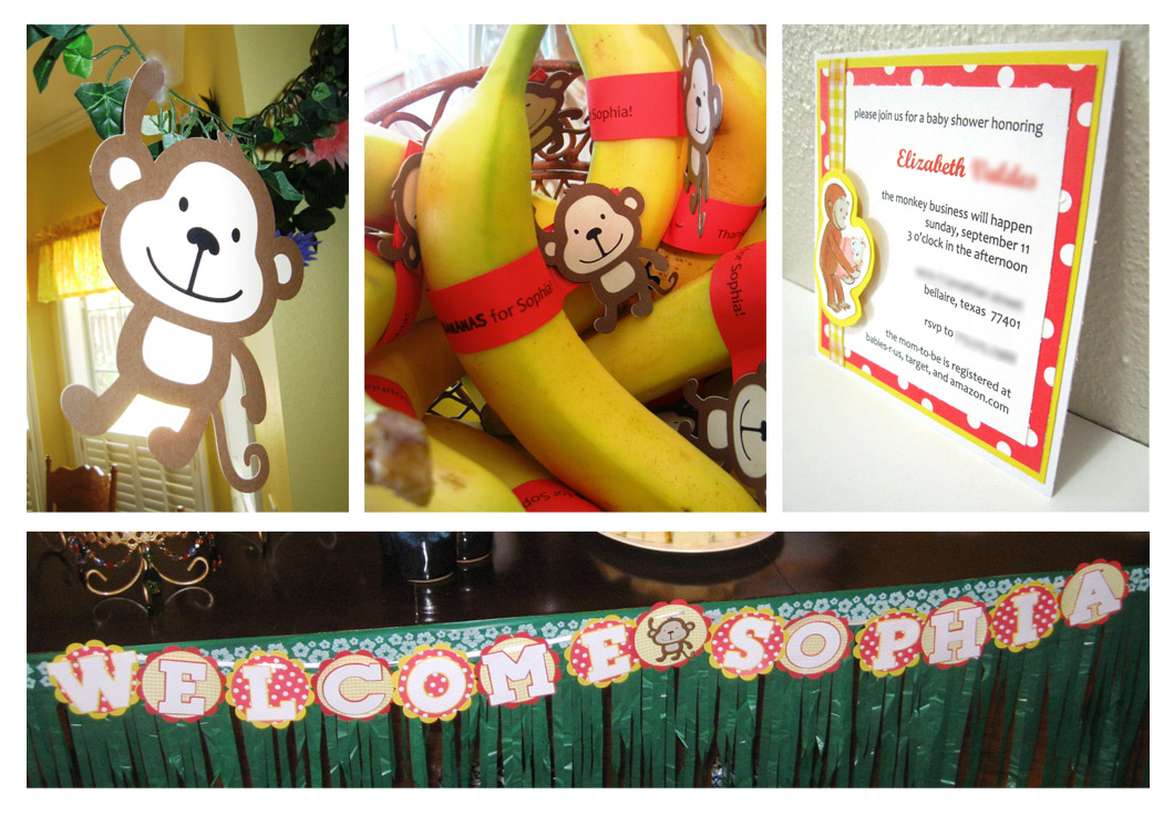 Cricut After Dark: Curious George Baby Shower (Guest Designer for