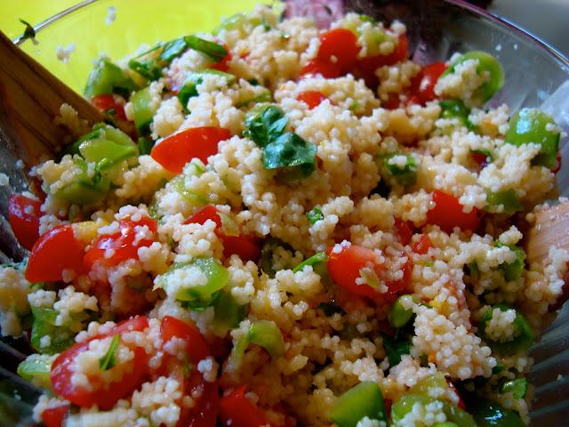 Quinoa Snap Pea Salad