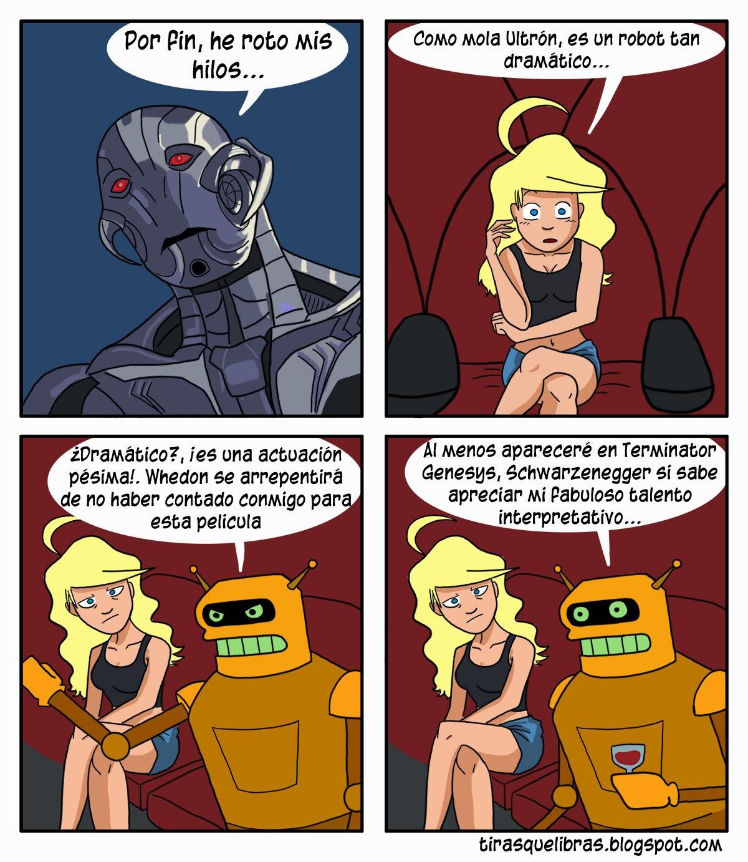 webcomic ye lo que hay, la era de Ultrón