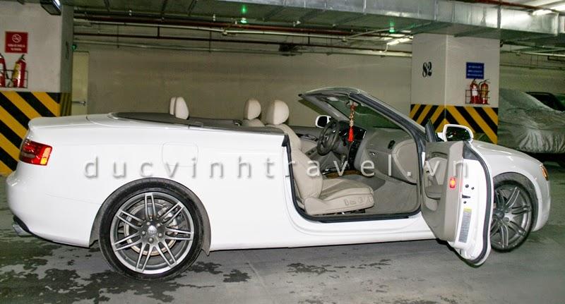 Cho thuê xe cưới Audi S5 mui trần 1