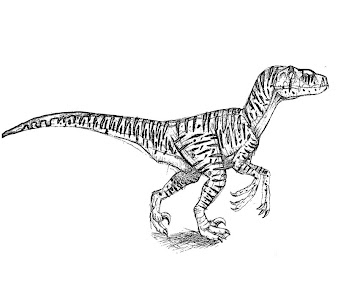 #9 Jurassic Park Coloring Page
