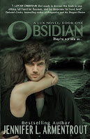 Obsidian by Jennifer Armentrout Young Adult Book Lux Series