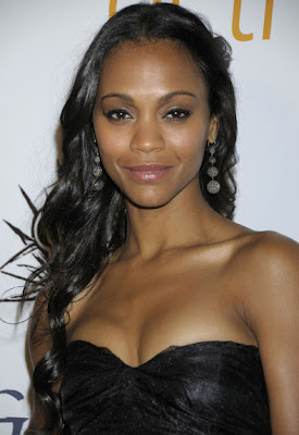 Zoe Saldana Sterling Dangle Earrings