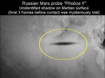 A Motive For The USA to Shoot Down Russian Phobos Satellite (Mars Mission)
