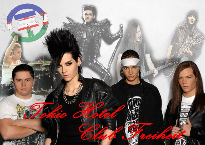 TOKIO HOTEL OFFICIAL HUMANOID COLOMBIA - FREIHEIT CALI
