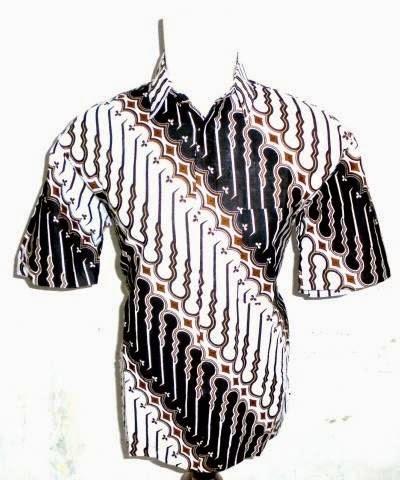 Model baju batik pria terbaru motif makassaran