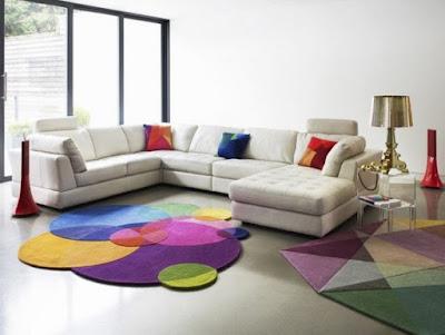 Model Karpet Ruang Tamu Cantik