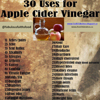apple cider vinegar - health benefits
