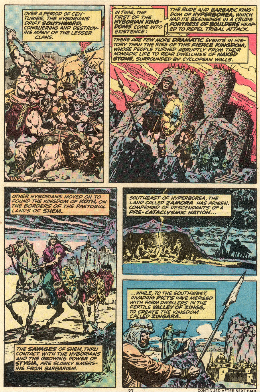 Conan the Barbarian (1970) Issue #87 #99 - English 17