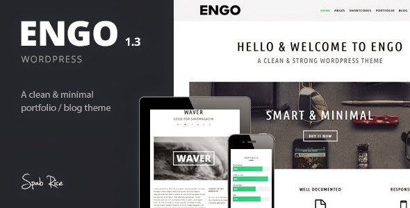 Engo v1.3 - Smart & Minimal Wordpress Theme