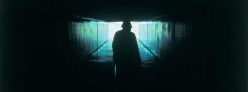 Couverture pour facebook homme en obscurité obscurité