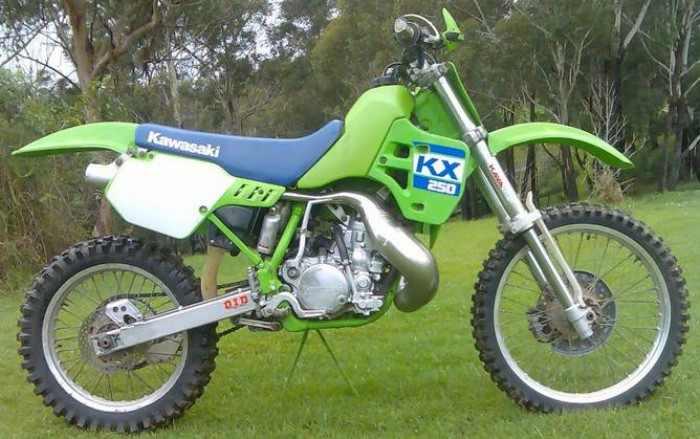 1988 Kawasaki KX 250 88 KX250