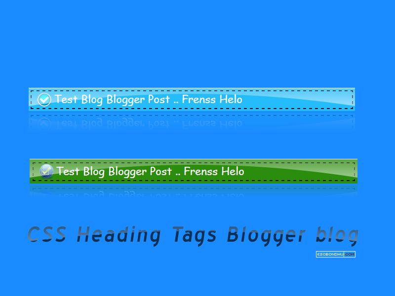 CSS-Heading