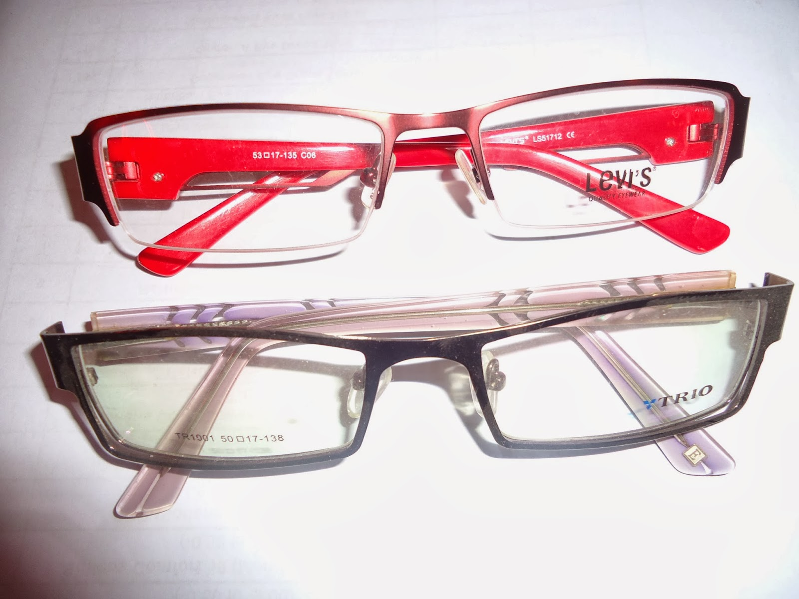 Buy Frames, Sunglasses,Contact lenses : Thick Side Red ...