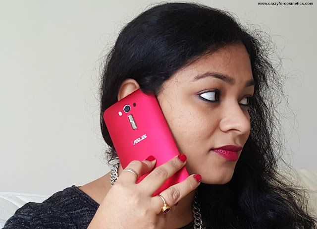 Asus Zenfone 2 Laser in Glamour Red