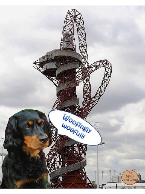 The Olympic ArcelorMittal Orbit Thingie!